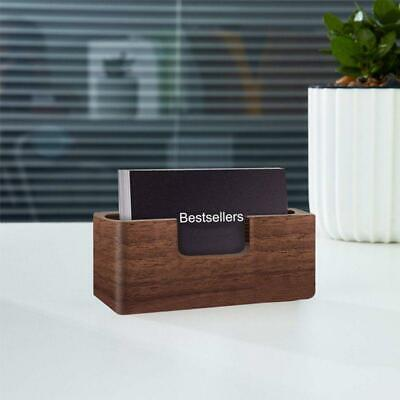 New Professional Wooden Business Card Holder Desk Card Holder Office Supply