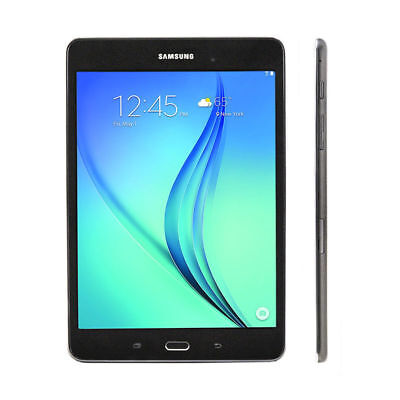 NEW Sealed Samsung Galaxy Tab A SM-T350NZ 16GB, Wi-Fi, 8 inch - Smoky Titanium