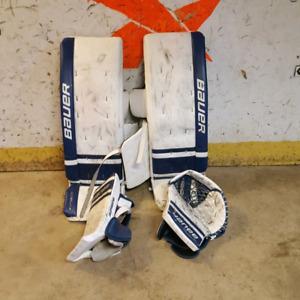 Bauer goalie equipment 35+1