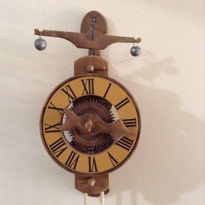 Foliot Wall Clock