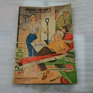 Vintage Canadian Tire Catalogue Spring & Summer 1963
