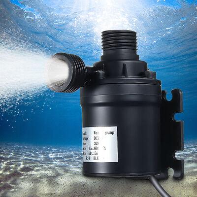 Ip68 800lh 5m Dc 24v Solar Brushless Motor Hot Water Circulation Water Pump