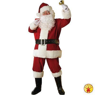 Weihnachtsmann deluxe Set Kostüm Nikolaus  Rubies 2 2371 (Rubies Weihnachtsmann Kostüm)