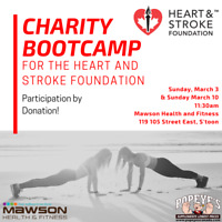 Charity Bootcamp for the Heart & Stroke Foundation!
