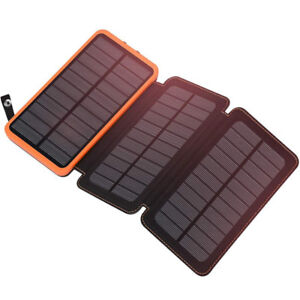 SALE Brand New FAST CHARGING 24000mAh Solar Charger Power Bank