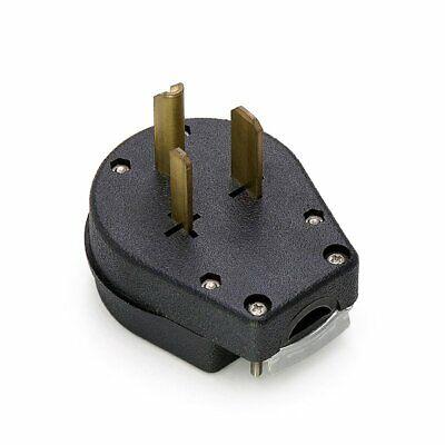 Male 6-30p Welder Dryer Power Plug 50 Amp 220v 208 220 250 Volt Welding 6-50p