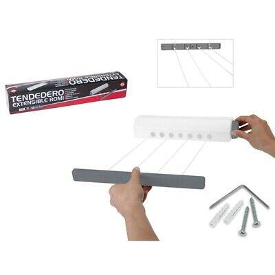 Tendedero Extensible Romi 3,66 m 5 cuerdas - Gerimport