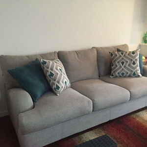 New couch - extremely comfortable!