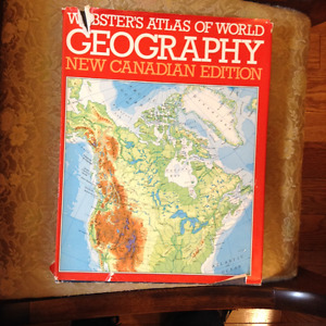 WEBSTER'S ATLAS OF WORLD GEOGRAPHY