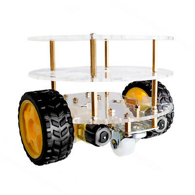 3 Layer With Speed Encoder 2wd Smart Robot Car Chassis Diy Kit For Arduino Udw