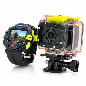 Full HD Action Camera 'Eyeshot' with Wi-Fi and Watch Remote Cont