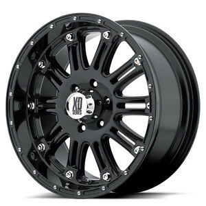 20inch XD Hoss rims 5x5.5 Dodge Ram bolt pattern