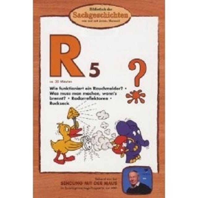 BIBLIOTHEK DER SACHGESCHICHTEN (R5): RAUCHMELDER, RUCKSACK, ... DVD NEU