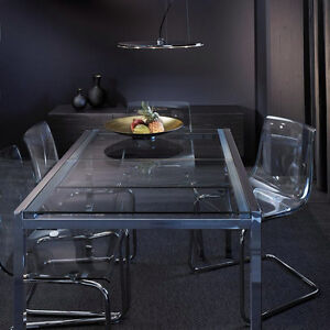 IKEA glass dining set