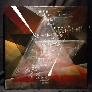 - ORIGINAL PAINTING - ARTWORK - Relativity is an art