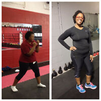 Women's Only 4 Month Fat Loss Boxing Challenge