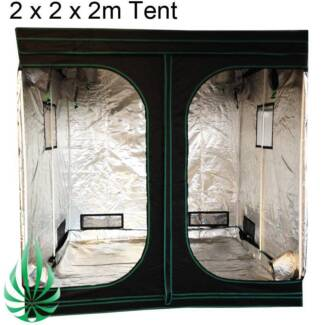 Hydroponics Indoor Grow Tent Box HPS/MH Light Kit Growroom 2x2x2m Lynbrook Casey Area Preview