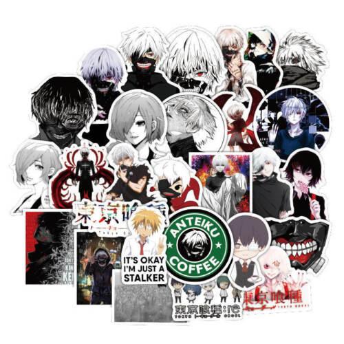 10pcs Tokyo Ghoul Stickers Anime Ken Touka Manga Vinyl Decal Buy 2 Get 1 Free