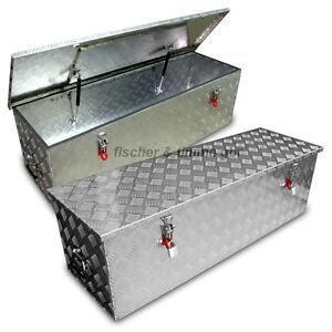 xl alukiste m abus schlo werkzeugkiste alubox deichselbox staubox box kiste a2 ebay. Black Bedroom Furniture Sets. Home Design Ideas