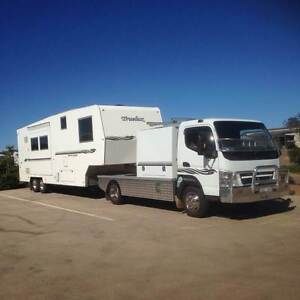 2011 Truelux Custom 5th Wheeler with 2010 Fuso 3.5 Canter Tinana Fraser Coast Preview