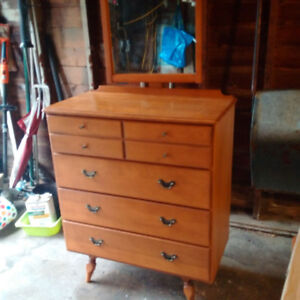 Solid Maple Dresser by Imperial of Stratford