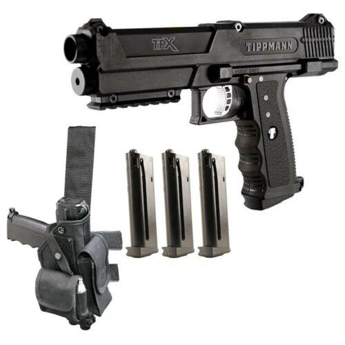 New TIPPMANN TiPX 68 Paintball Gun KIT Marker Pistol Delux Tpx