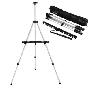 Art Easel - Aluminum Metal Easel Stand - Adjustable Floor Easels