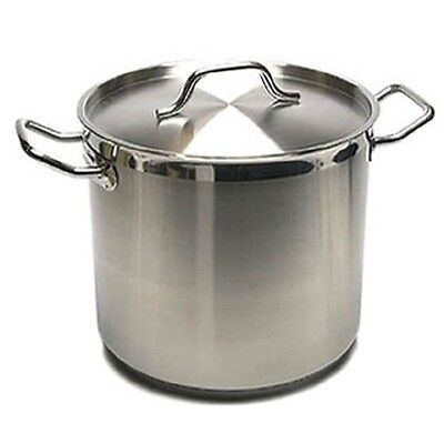 New Professional Commercial Grade 32 Quart Heavy Gauge Stainless Steel Stock