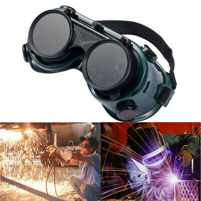 Eyewear Welding Goggles Glasses Labour Protection Safety Soldering Steampunk