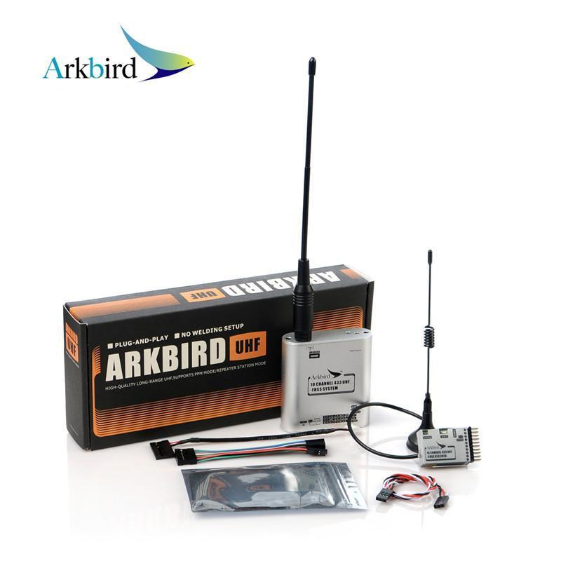 Arkbird 433MHz Transmitter Receiver PPM PWM RSSI Repeater 10CH FPVUHF FHSS Model