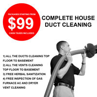 GET YOUR DUCT CLEANING DONE THIS OCTOBER WITH EXCLUSIVE PACKAGES