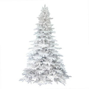 7.5 foot white tree