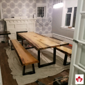 Marvelous Custom Concrete Table Buy And Sell Furniture In Ottawa Home Interior And Landscaping Elinuenasavecom