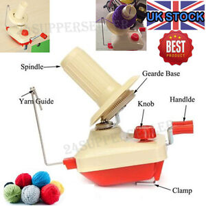 NEW Hand Operated Yarn Winder Fiber Wool String Ball Thread Skein Winder Machine