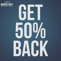 $60/hr for 2 Movers & Get 50% back! Call/text 902-800-2030