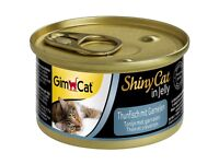 GimCat ShinyCat in Jelly Tuna With Shrimp 24 x Cans 70g Wet Cat Food