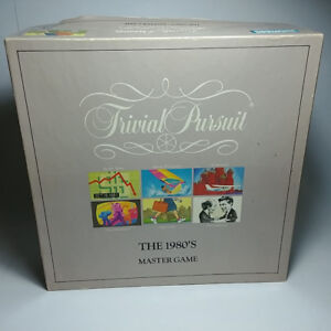 Trivial Pursuit The 1980's Master Game By Parker Brothers