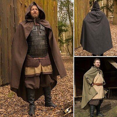 Ready For Battle Cape. 3 Colours - Ideal For Costume, LARP Events & Re-enactment