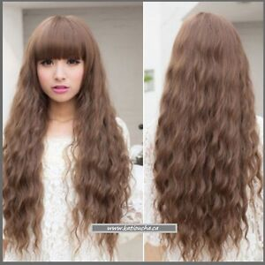 Long Wavy Curly High Quality Wig 55-65cm,black,brown,light brown Yellowknife Northwest Territories image 4