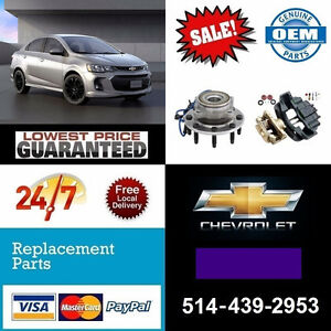 Chevrolet Sonic ► Bearings, Calipers • Roulements, Étriers