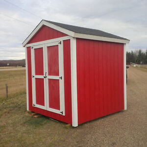 Shed 8ft x 8ft - Ready to go! - free delivery around YEG