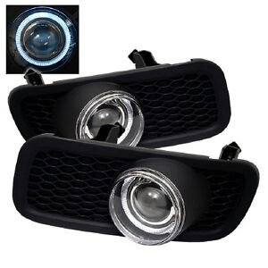 Ford F150 2004 05 Halo Projector Fog Lights - Clear TLN