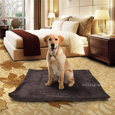 Large Dog Cat Pet Soft Bed House Warm Cushion Puppy Pad Mat For Crate Kennel