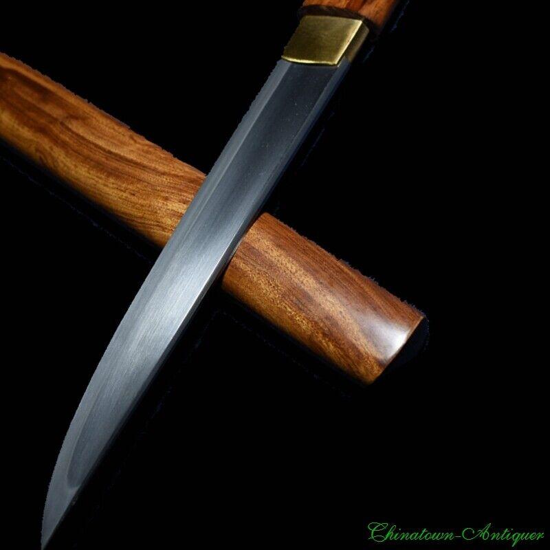 Japanese Short Sword Kaiken Tanto T10 Steel Blade Sharp Battle Ready #2486