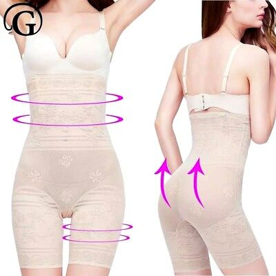 LADIES BEST PLUS SIZE HIGH WAIST SLIMMING TUMMY BELLY STOMACH FLATTENING (Best Stomach Flattening Shapewear)
