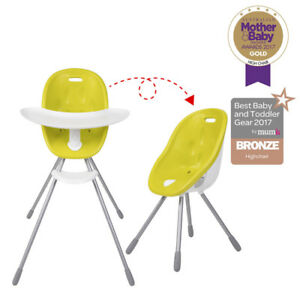 Phil & Ted's- Poppy High Chair in Lime Green