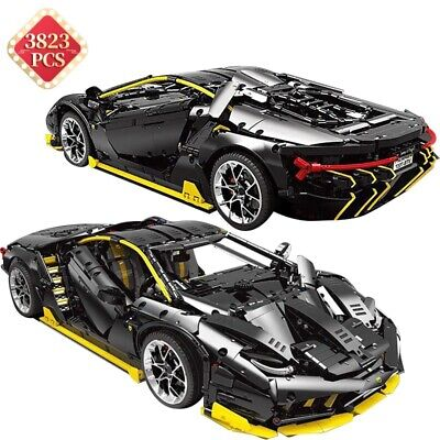 3823Pcs Technic Supercar Lamborghini Type Static Model Building Blocks Set Car