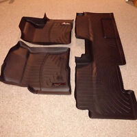 WEATHER MATS - FORD F150 SUPERCAB