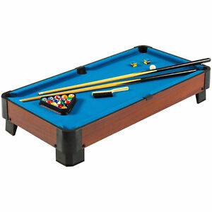 Hathaway Sharp Shooter Pool Table (Blue, 40-Inch) - $120