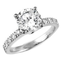 $999 BAGUE DE FIANCALLES 1 CARAT DIAMOND ENGAGEMENT RING - $999